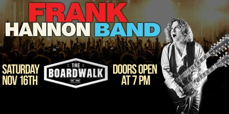 Frank Hannon Band tickets