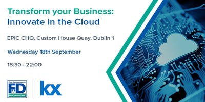 Transform your Business: Innovate in the Cloud