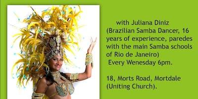 Brazilian Samba Class Wednesday 6PM