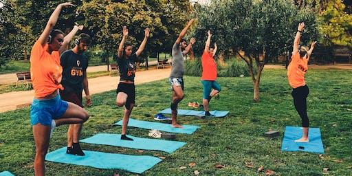 Clase de Yoga GRATIS en el Parc de la Ciutadella