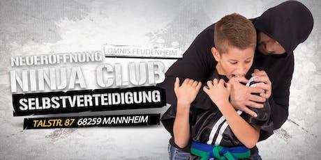 Neueröffnung Selbstverteidigung für Kinder ab 7 Jahren in Ma-Feudenheim Tickets