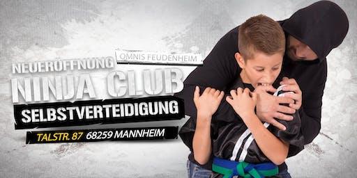 Neueröffnung Selbstverteidigung für Kinder ab 7 Jahren in Ma-Feudenheim
