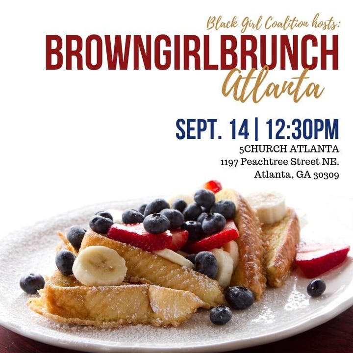 Amazing Black Girl Coalition Hosts Brown Girl Brunch Atlanta Ga Interior Design Ideas Tzicisoteloinfo