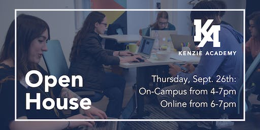 Kenzie Academy Open House September 2019