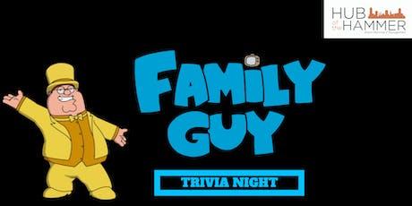 Family Guy Trivia Night - Waterdown tickets