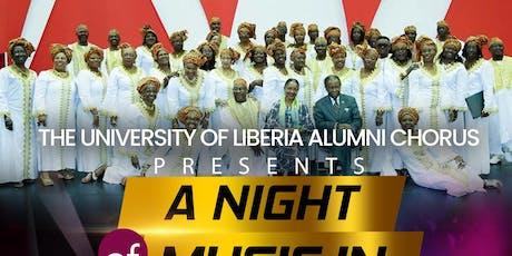 "University of Liberia Alumni Chorus -  ""A Night of Music in New Haven"" tickets"