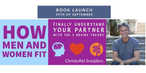 """Book launch  """"How Men and Women Fit the 3 brains with the 3 Brains Theory"""