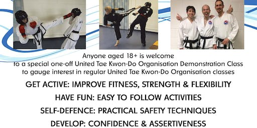 Tae kwon-do FREE demo class at LGBT Foundation, open to anyone 18+