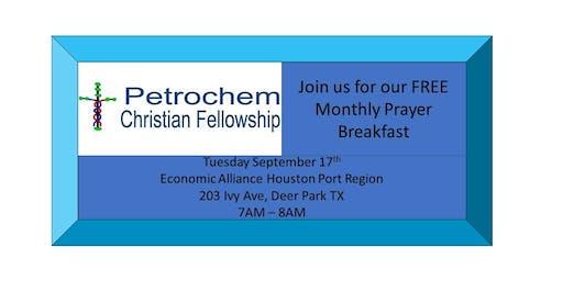 Petrochem Christian Fellowship Breakfast September 17th 2019