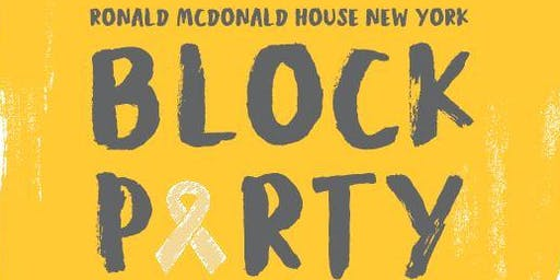 Ronald McDonald House Annual Block Party