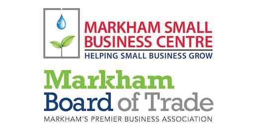 Markham Small Business Forum