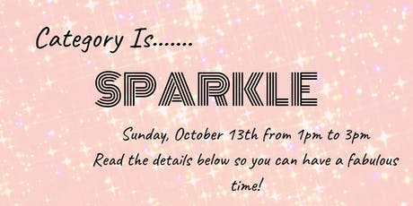 Category is...SPARKLE:Drew's Bachelorette Party tickets
