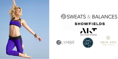 Sweats & Balances x AKT Rooftop Workout with Becky Anderson @Showfields tickets
