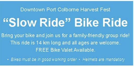 Harvest Fest Slow Ride Bike Ride