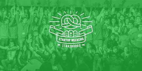 Techstars Startup Weekend Strasbourg 11/19 billets