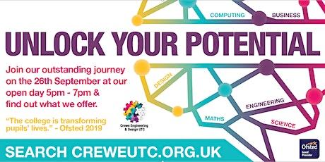 Crewe Engineering And Design Utc Events Eventbrite