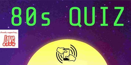 80s Quiz tickets