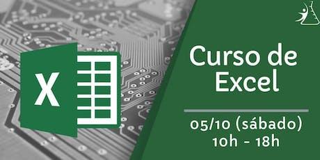 Curso de Excel ingressos