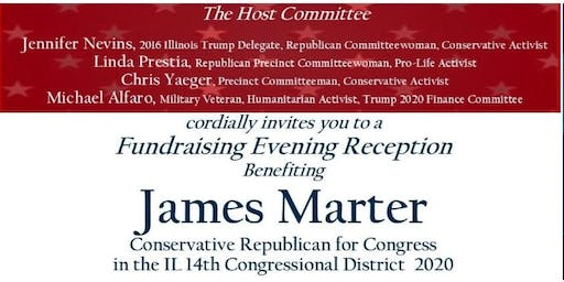 Republican 2020 Reception for James Marter for Congress IL14th District