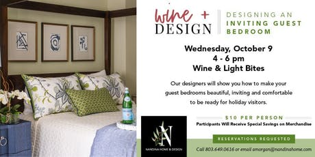 Wine and Design: An Inviting Guest Bedroom tickets