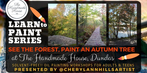 See the Forest, Paint an Autumn Tree Scene