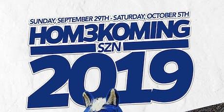 HOM3KOMING SZN 2019 tickets