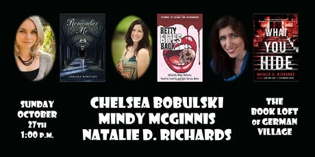 Chelsea Bobulski, Mindy McGinnis and Natalie D. Richards tickets