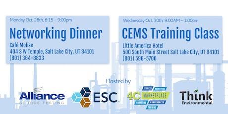 AFPM Environmental Networking Dinner & Training Class tickets