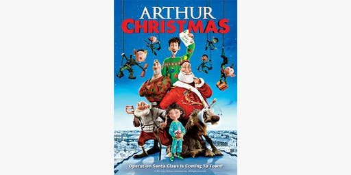 Newcastle - Santa's Rooftop Cinema X Arthur Christmas