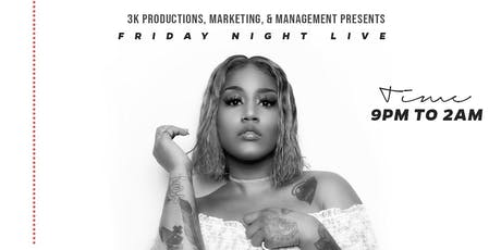 FRIDAY NIGHT LIVE W/ JHONNI BLAZE tickets