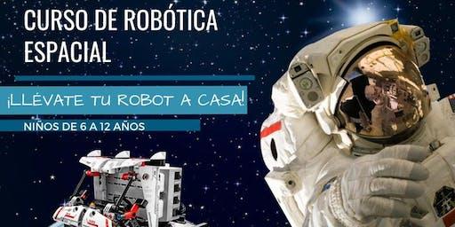 CURSO DE ROBÓTICA ESPACIAL