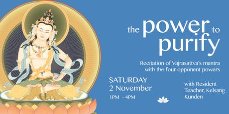 The Power to Purify - Meditation Course tickets