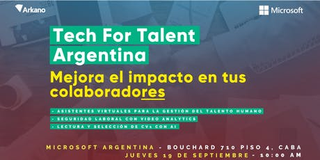 Tech for Talent - Argentina entradas