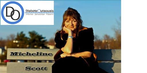 Soirée spectacle avec Micheline Scott (30e Diabète Outaouais)