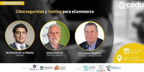 Ciberseguridad y Testing para eCommerce entradas