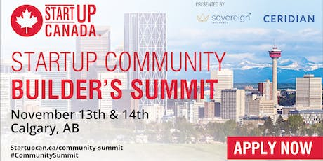 Startup Canada Community Builder's Summit tickets
