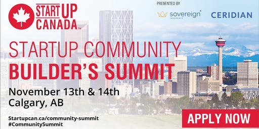 Startup Canada Community Builder's Summit