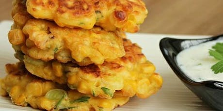 UBS Cooking School: Sweet Corn Fritters tickets