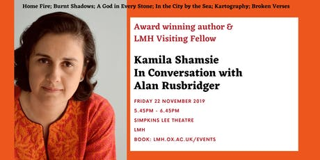 Kamila Shamsie In Conversation with Alan Rusbridger tickets