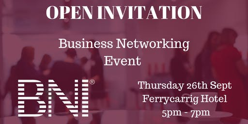 BNI Open Networking Event