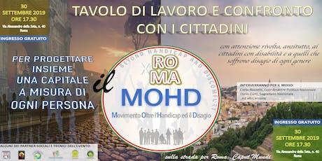 ROMA CAPUT MUNDI:PROGETTIAMO INSIEME UNA CAPITALE A MISURA DI OGNI PERSONA biglietti