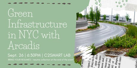 Green Infrastructure in NYC tickets