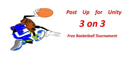 Post up for Unity 3 on 3 Basketball Tournament