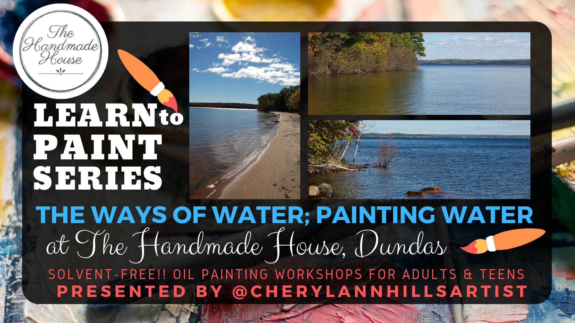 Ways of Water, Paint a Water Scene