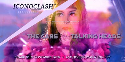 ICONOCLASH: The Cars & Talking Heads at Ace of Cups