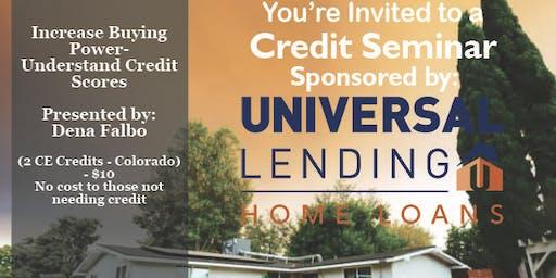 Credit Seminar ULC 10.24.19
