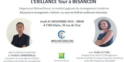 Exillance Tour Besançon : conférence interactive sur le management Exillant