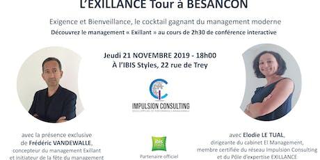 Exillance Tour Besançon : conférence interactive sur le management Exillant billets