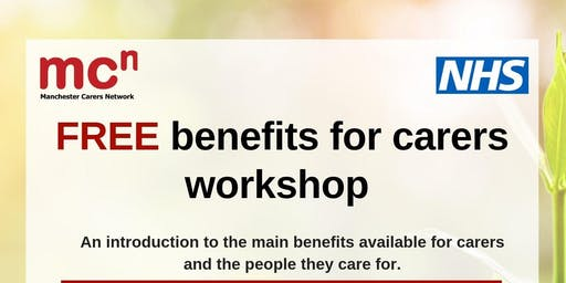 FREE Benefits advice for carers workshop