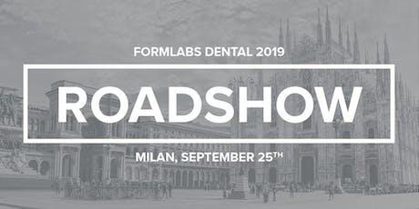 Roadshow dentale Formlabs Bilcotech biglietti